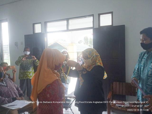 Sukseskan Kostratani Food Estate Kalteng, BBPP Binuang Gelar Pelatihan Pengelolaan Organisasi Kelompok