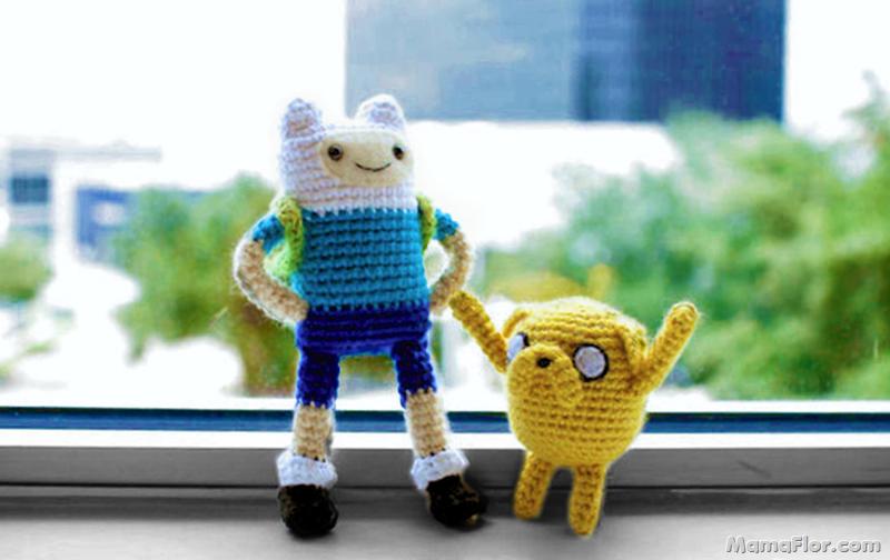 Tejidos a Crochet: Súperhéroes y Dibujos Animados