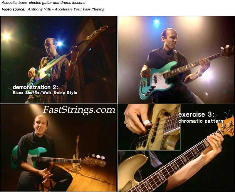 Anthony Vitti - Accelerate Your Bass Playing