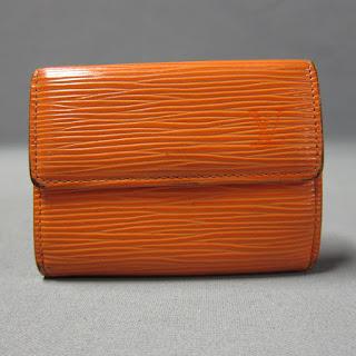 Louis Vuitton EPI Leather Mini Wallet