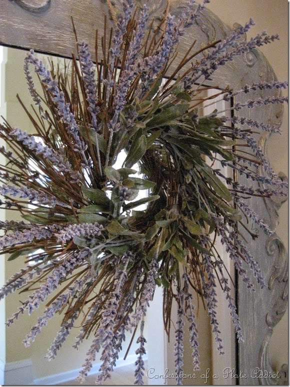 CONFESSIONS OF A PLATE ADDICT Easy and Inexpensive Faux Lavender Wreath