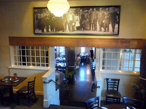 interior of Meriwether's restaurant in Portland