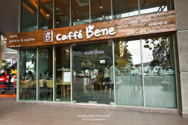 bingsu, aiskrim korea, korea, food lover, k-pop, hanbing, caffe bene, ioi mall