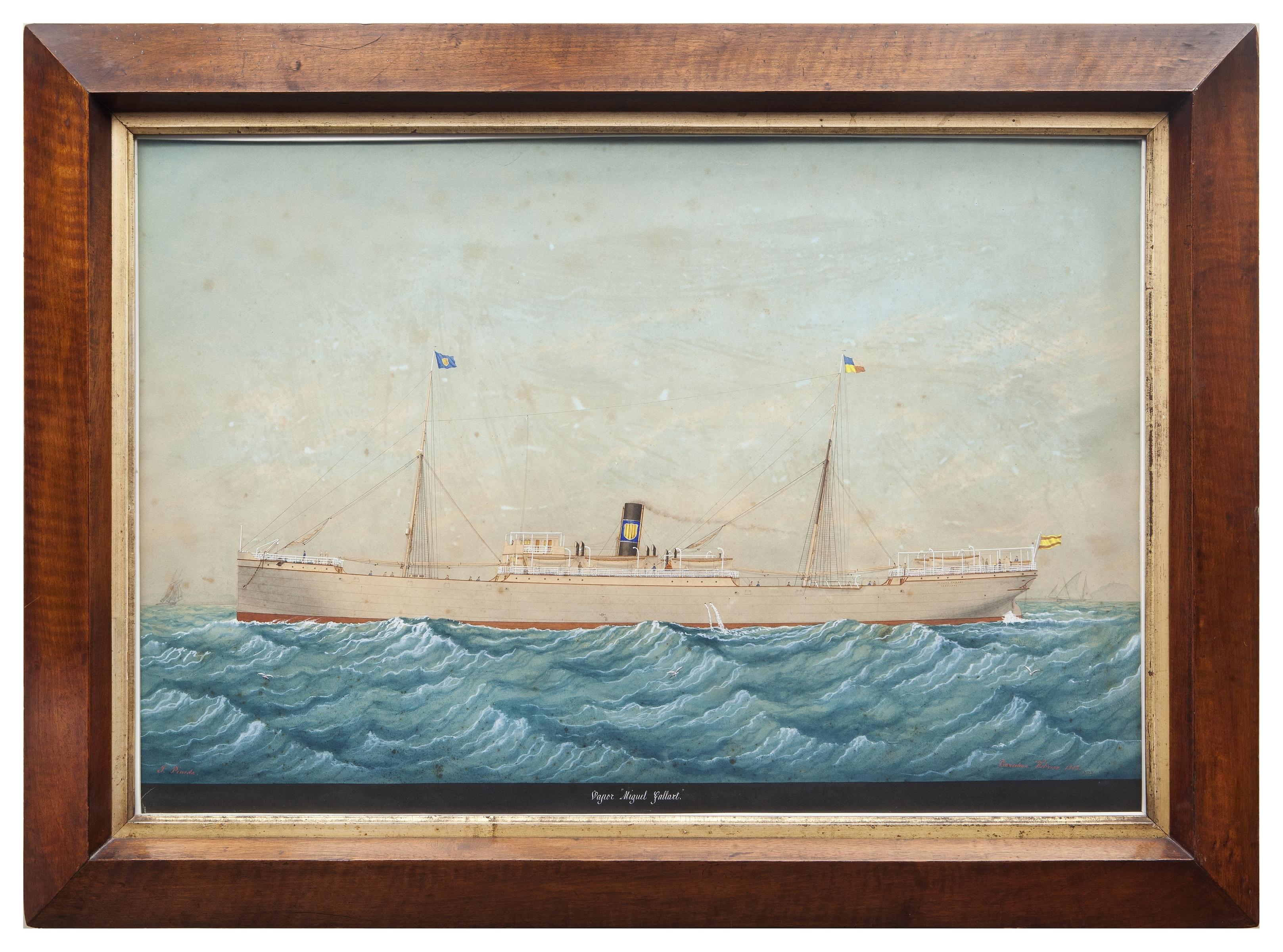 MIGUEL GALLART; COLONIAL Y DECIMONONICO | Vida Marítima