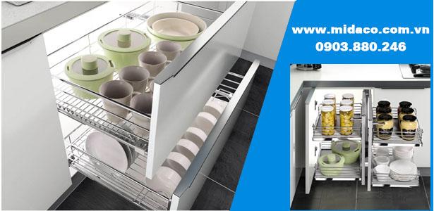 Midaco cung cấp sản phẩm phụ kiện tủ bếp giá tốt nhất tại TPHCM