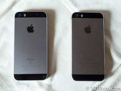 iPhone SEとiPhone 5s見分けがつかない