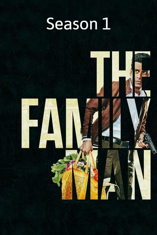 Download The Family Man 2019 (Season 1) Hindi {PrimeVideo Series} All Episodes BluRay || 720p [350MB]