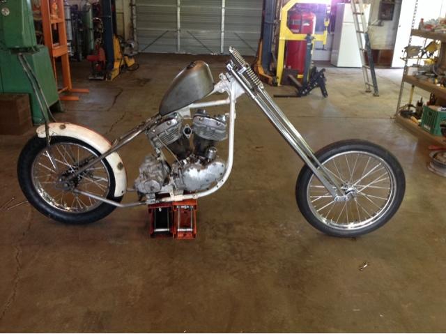 LOVE CYCLES: 1966 Shovelhead chopper for sale