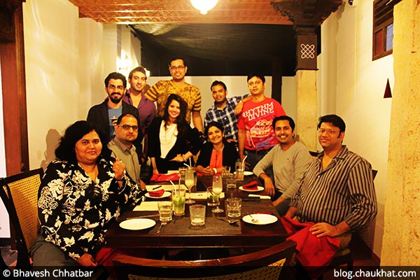 Food bloggers for food tasting at Savya Rasa [Koregaon Park, Pune]