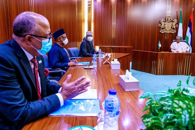 COVID-19: Buhari Receives Briefing From PTF