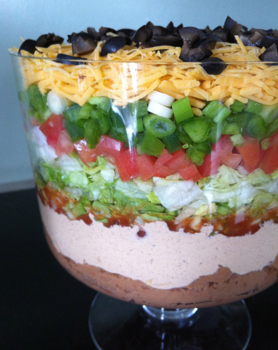 Cooking with the Catherines: Seven Layer Taco Dip