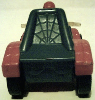 Back view of Spider-Man buggy 1996