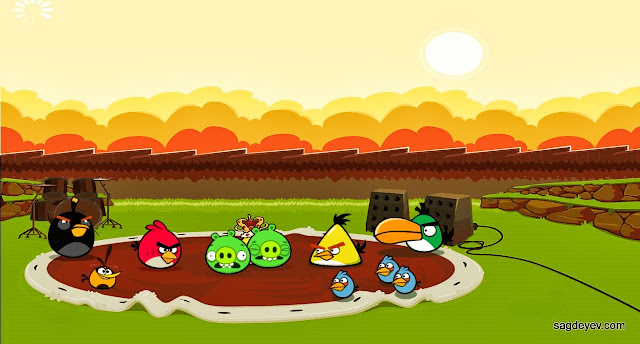 Angry Birds Friends: Freddie For A Day Intro screen 1