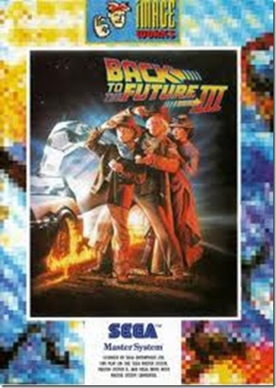 Back to the Future (Sega Master System Cover)