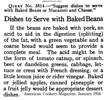 Dishes to Serve with Baked beans