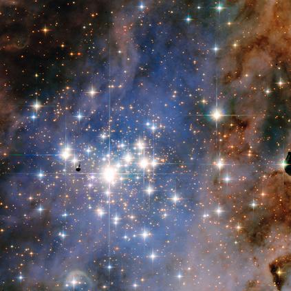 aglomerado estelar Trumpler 14
