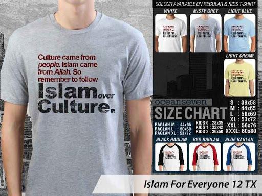 Kaos Distro Islami For Everyone 12 distro ocean seven
