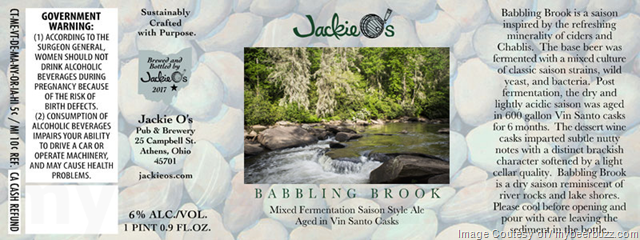 Jackie O's Babbling Brook