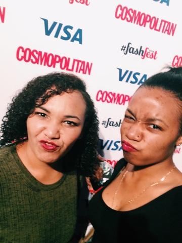 Cosmopolitan #Fash#Fest 2015 - Selfie!