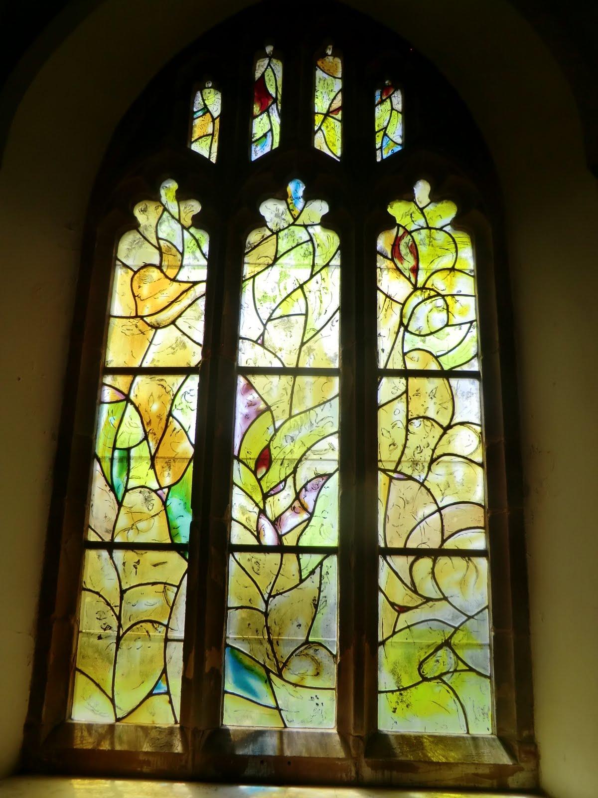 CIMG1558 Chagall window #12, All Saints church