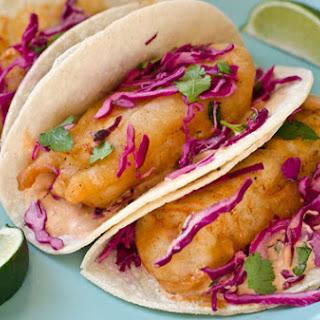 Baja Fish Tacos Baja Sauce Recipes.