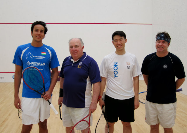 Northeast Draw 3rd Place: Finalists - Manek Mathur (Greenwich) & Marty Stocklan; Champions - Andrew Yoon & Doug Lifford (Boston)