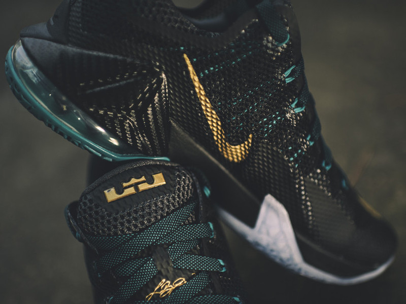 brand new 07a77 7ff6d Dark SVSM LeBron 12 Low Drops on September 3rd ...
