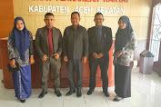 YLBH AKA Bersilaturahmi ke DPRK Aceh Selatan