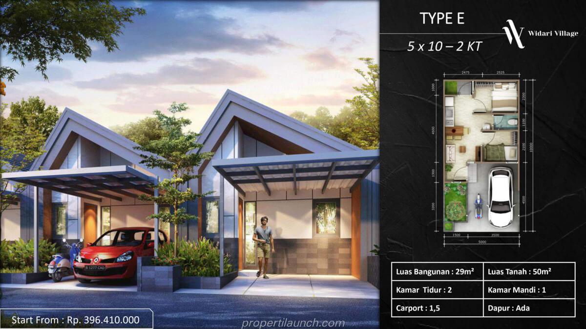 Rumah Widari Village Tipe E