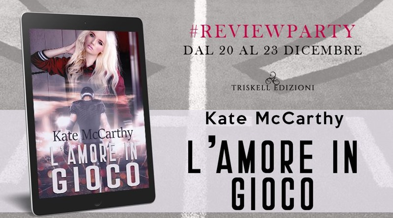 L'amore in gioco - Kate McCarthy - Review Party