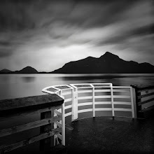 """Photo: """"Minstrel's Gallery"""".   A viewing area on the Porteau cove Pier, Howe Sound Fjord, British Columbia"""