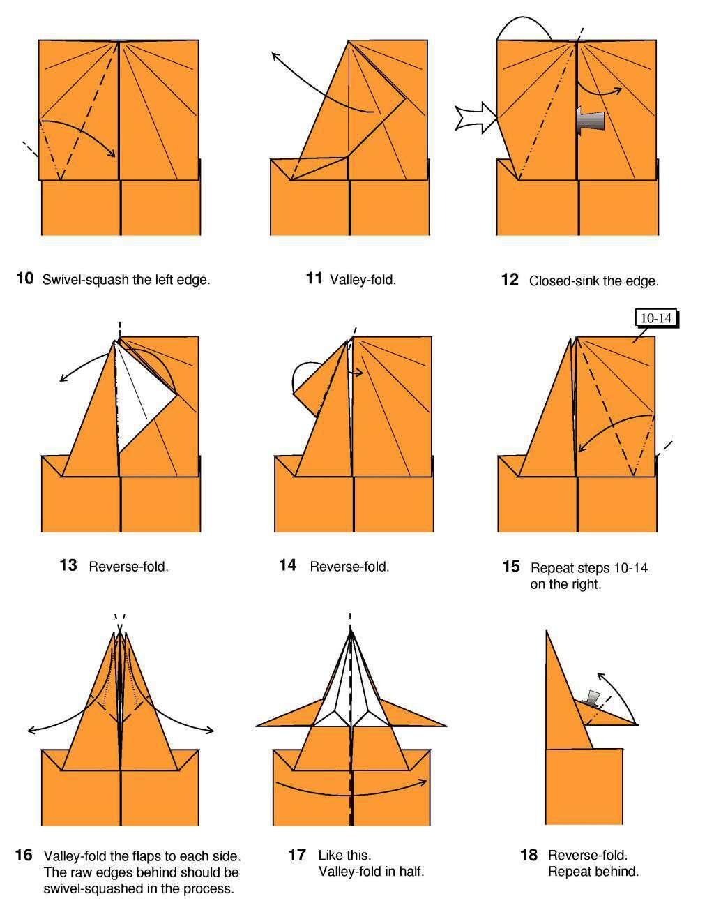 Origami: Origami Curious Dog Card - photo#5