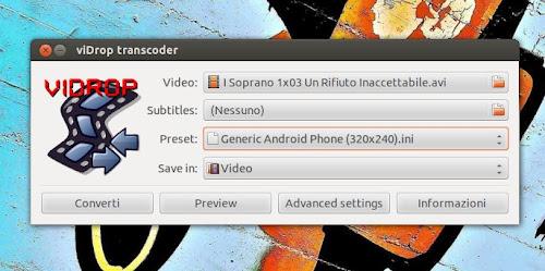 viDrop su Ubuntu