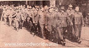 Duitse soldaten verlaten Twente