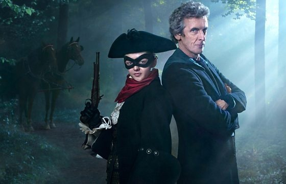 Doctor Who - The Woman Who Lived - Maisie Williams and Peter Capaldi
