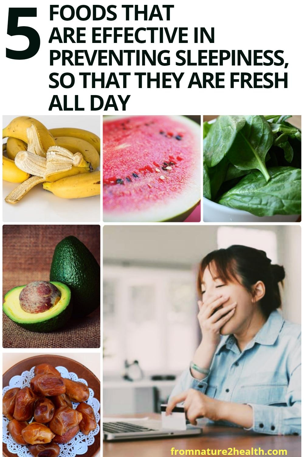 Banana, Watermelon, Spinach are Foods That are Effective in Preventing Sleepiness, so That They Are Fresh All Day