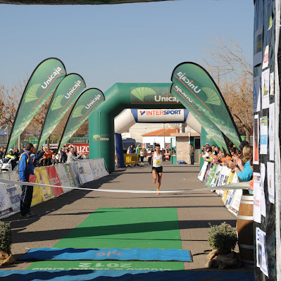 XVII Media Maratón de Valdepeñas - Llegada