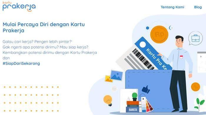 Pendaftaran Online Kartu Prakerja Akan Dibuka Tanggal 1 April