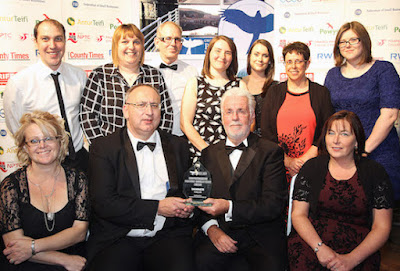 Celebrations at Powys Business Awards finals