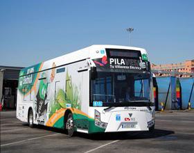 La EMT prueba el bus eléctrico Foton