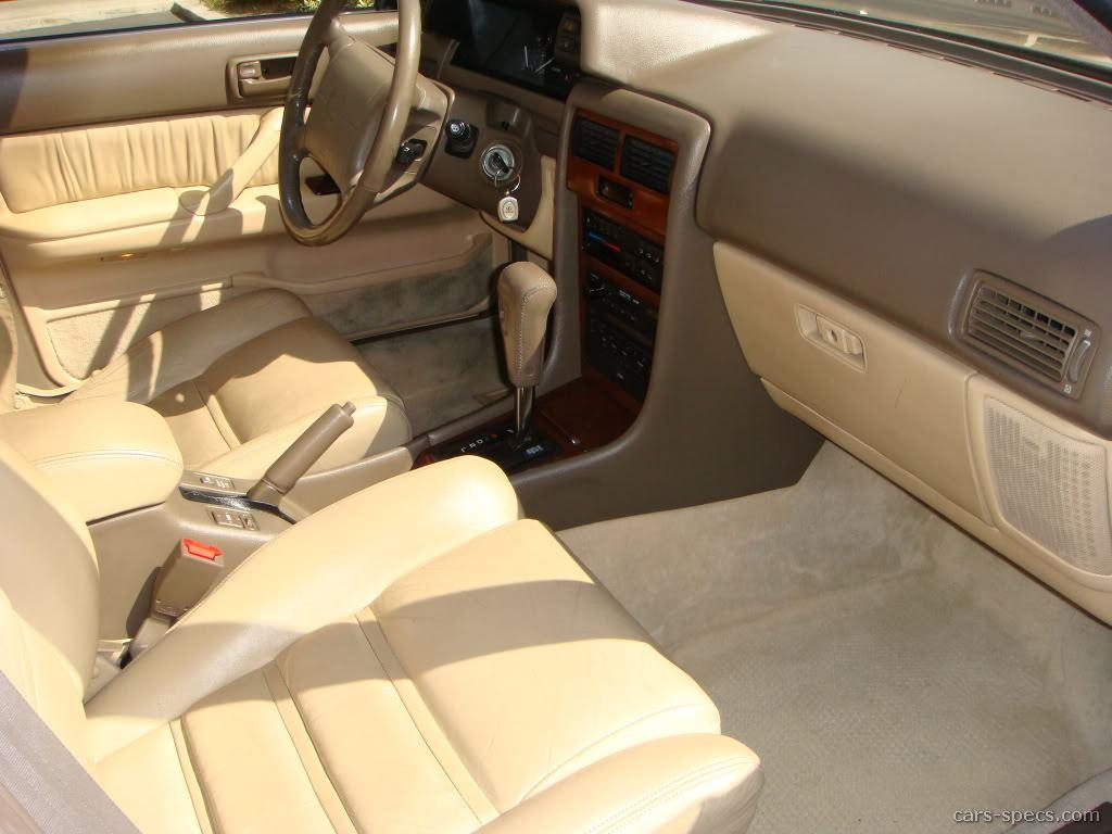 1991 Lexus Es 250 Sedan Specifications Pictures Prices