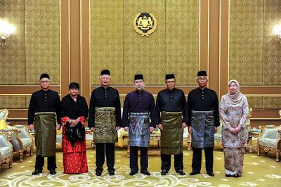 YDP Agong berkenan terima mngadap & smpaikn watikah kpd Ketua Hakim Negara, Pres Mahkamah Rayuan & Hakim Mahkamah Persekutuan