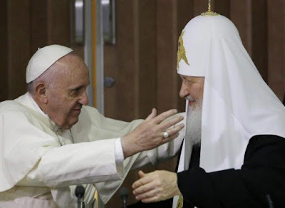 Pope, Orthodox Patriarch Meet After 1,000 Year Split
