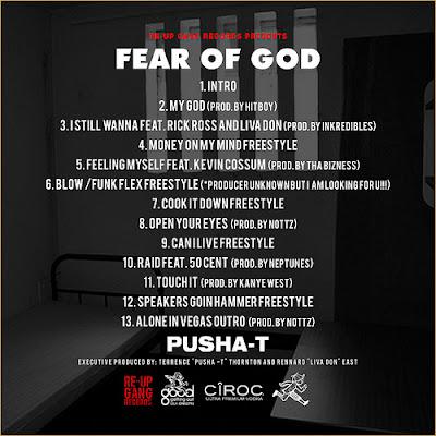 Mixtape // Pusha T – Fear Of God