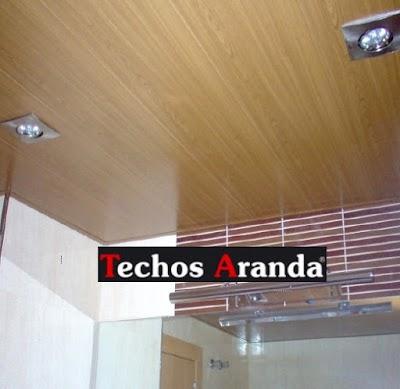 Presupuestos techos de aluminio para baños Madrid