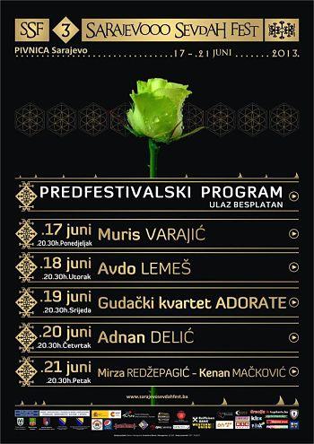 Počinje predfestivalski program SSF-a