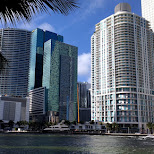 downtown Miami in Miami, Florida, United States