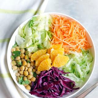 Moroccan Salad Bowl – Orange Blossom Vinaigrette