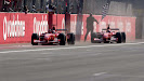 1-2 finish Rubens Barrichello & Michael Schumacher Ferrari F2002
