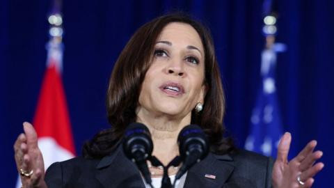Kamala Harris blasts China during first trip to Asia as US Vice President